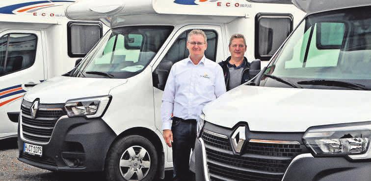 Beim Garbsener Unternehmen CT Reisemobile können Kunden im Onlineshop buchen.