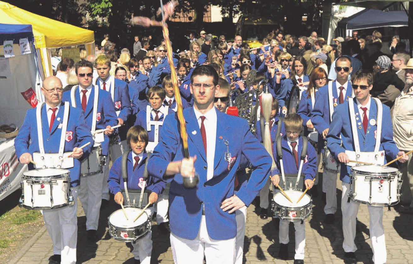 Der Stederdorfer Spielmannszug wird das Maibaumfest musikalisch begleiten.