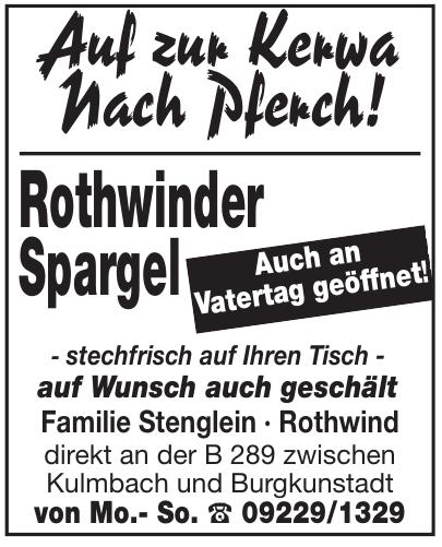 Rothwinder Spargel