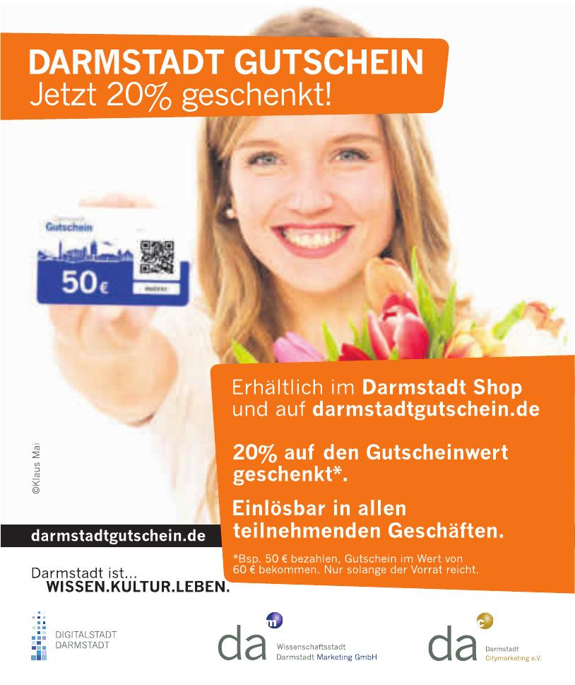Darmstadt Gutschein