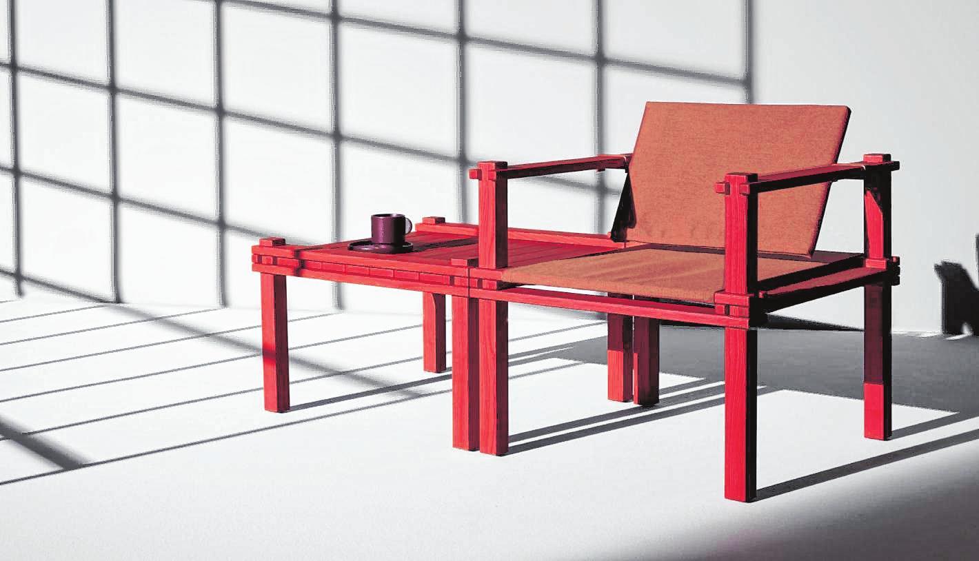 Ein Trend, der aus dem Wohnraum auf Balkon und Terrasse schwappt: Outdoormöbel sind jetzt oft minimalistisch gestaltet.