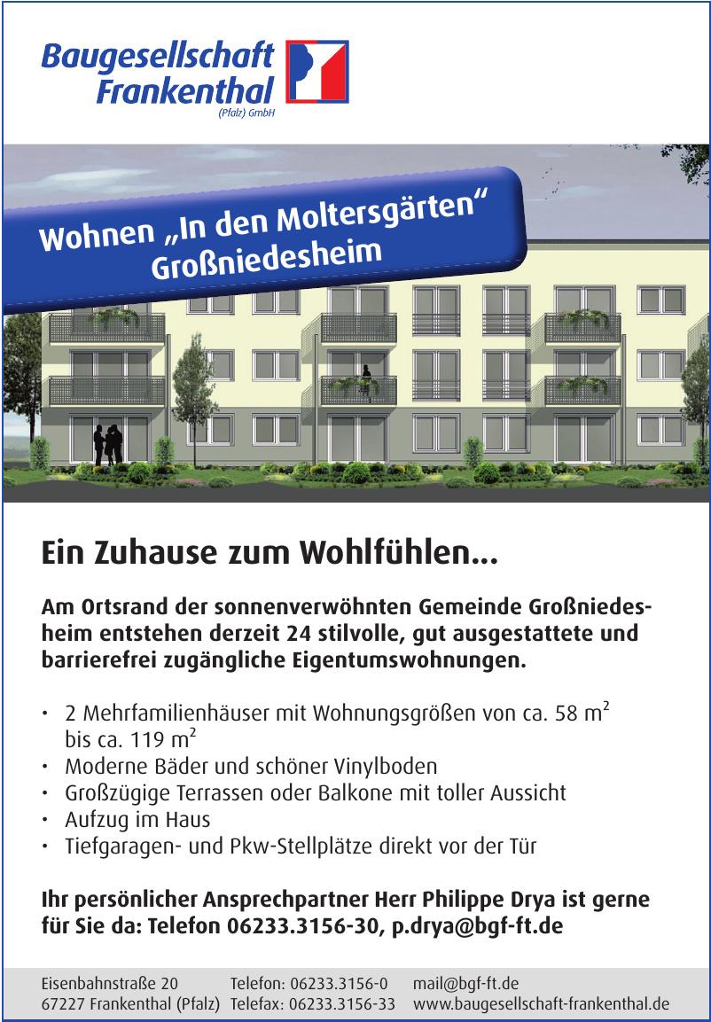 Baugesellschaft Frankenthal (Pfalz) GmbH