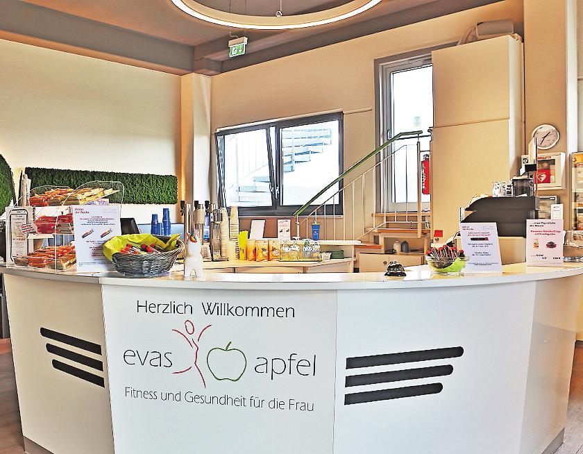 Einladend: der Empfangsbereich. FOTO: EVAS APFEL/FREI
