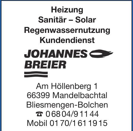 Johannes Breier