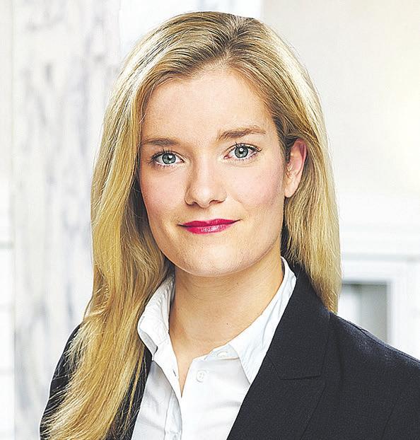 Gabriela Rieks ist Head of Product Warburg Navigator bei der Hamburger Privatbank M.M.Warburg & CO