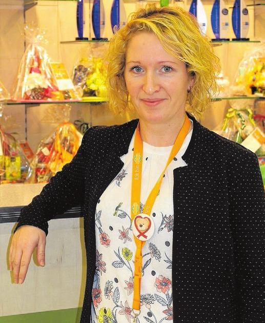 Ansprechpartnerin für Azubis bei GLOBUS ist Franziska Semrau-Wacker