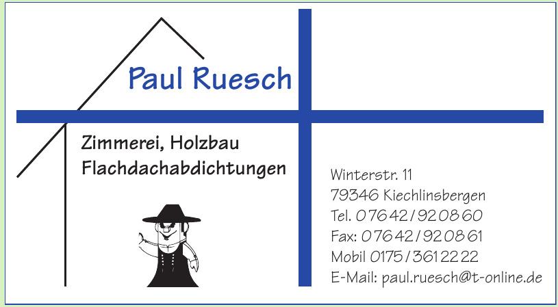 Paul Ruesch