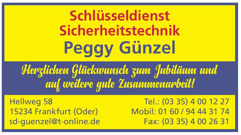Peggy Günzel Schlüsseldienst, Sicherheitstechnik