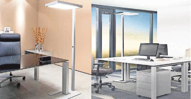 Die Beleuchtung ist ein wesentlicher Faktor der Arbeitsplatzgestaltung.