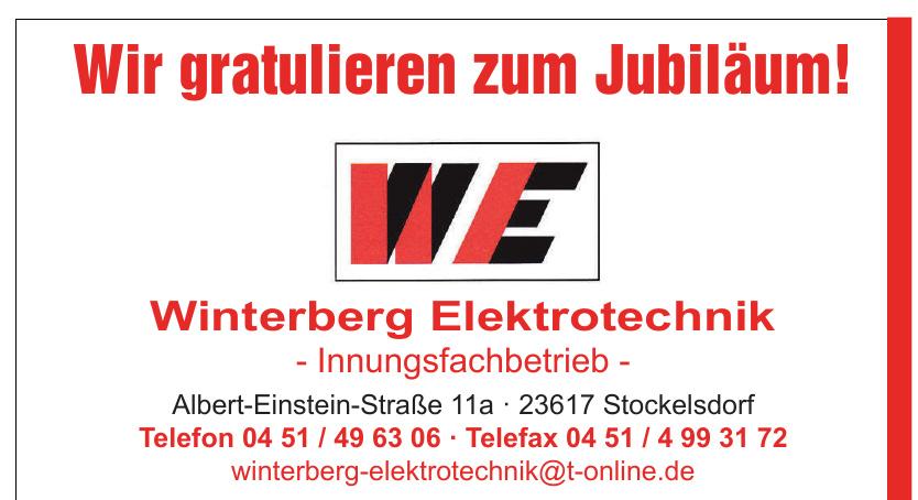 WE Winterberg Elektrotechnik