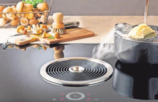 Das BORA-Dunstabzugssystem – Kochvergnügen ohne unerwünschte Gerüche.