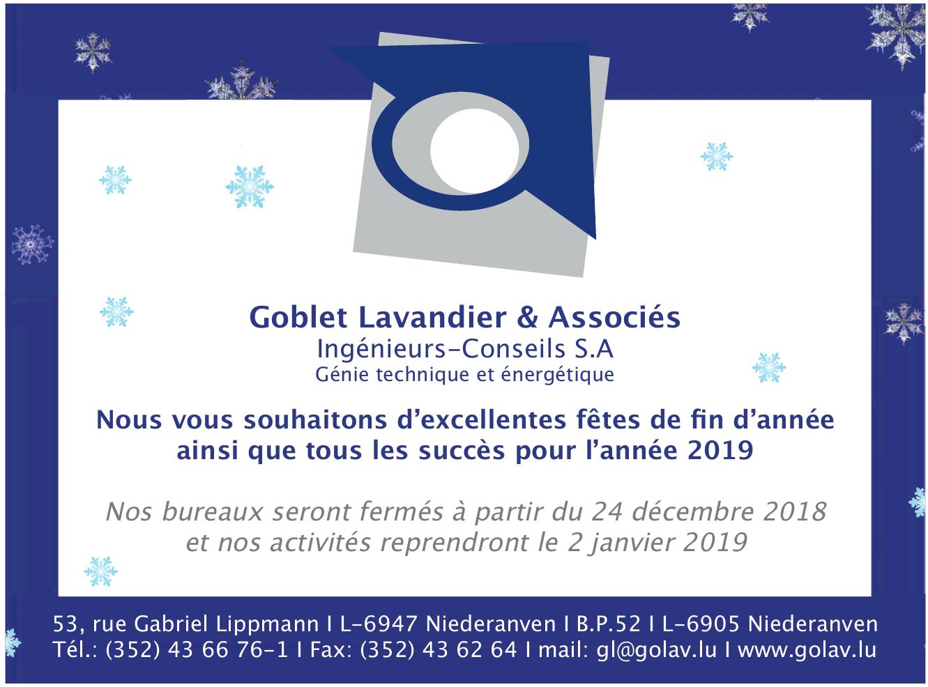 Goblet Lavandier & Associés