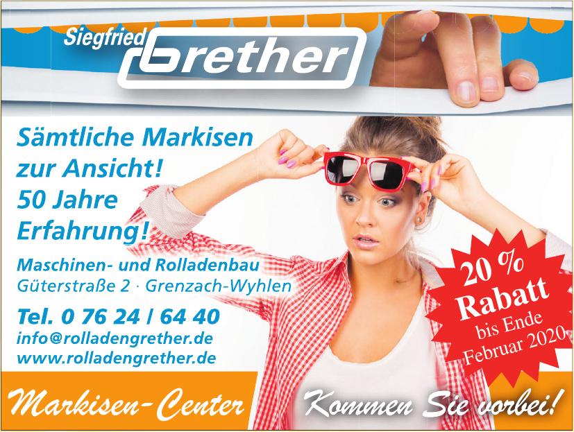 Siegfried Grether Maschinen- und Rolladenbau