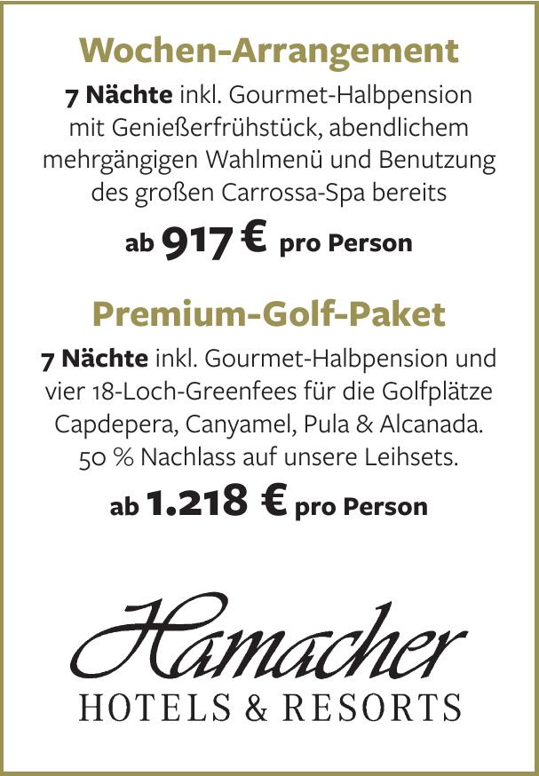 Hamacher Hotels & Resorts