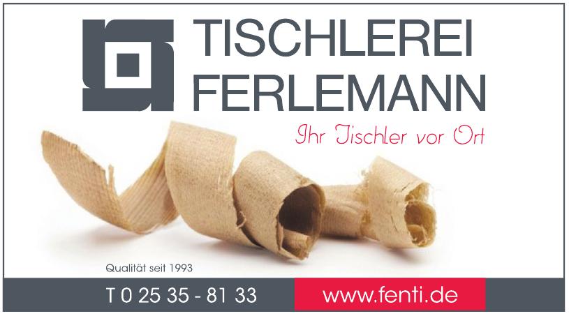 Tischlerei Jürgen Ferlemann