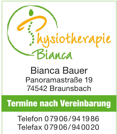 Physiotherapie Bianca