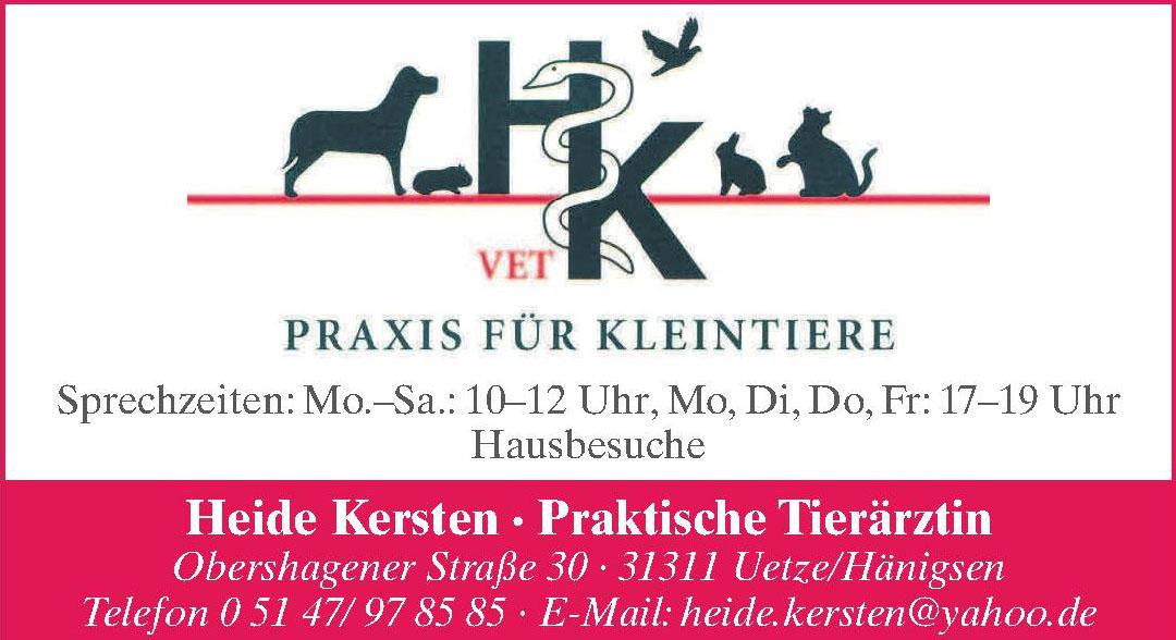 HK Vet Praxis für Kleintiere