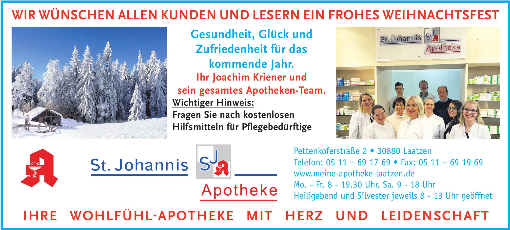 St. Johannis Apotheke Laatzen
