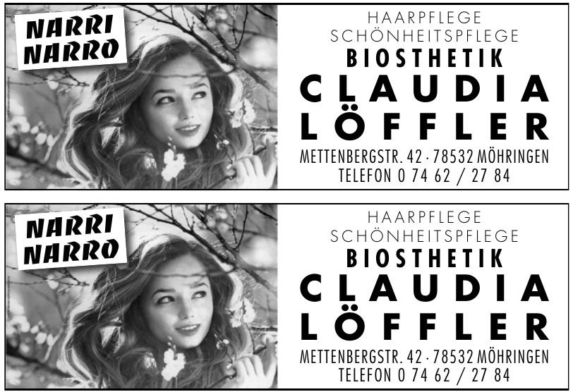 Haar- und Schönheitspflege Biosthetik Claudia Löffler