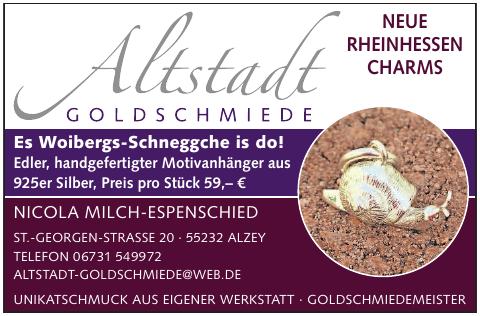 Altstadt Goldschmiede  Nicola Milch-Espenschied