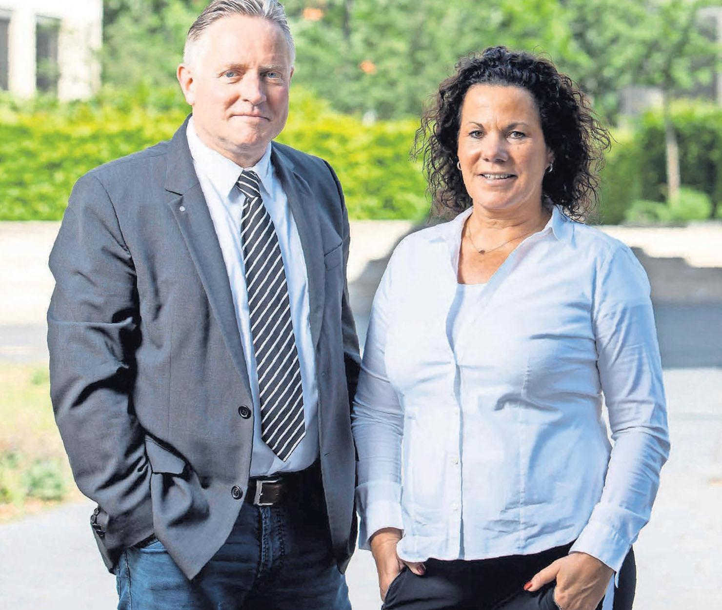 Anja Lentze und Torsten Jöcks führen erfolgreich ihr Bestattungsunternehmen.