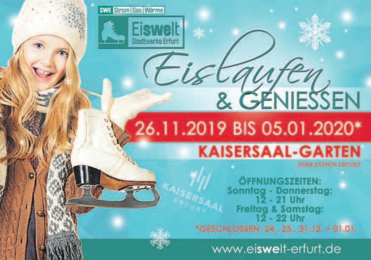 Eiswelt Stadtwerke Erfurt