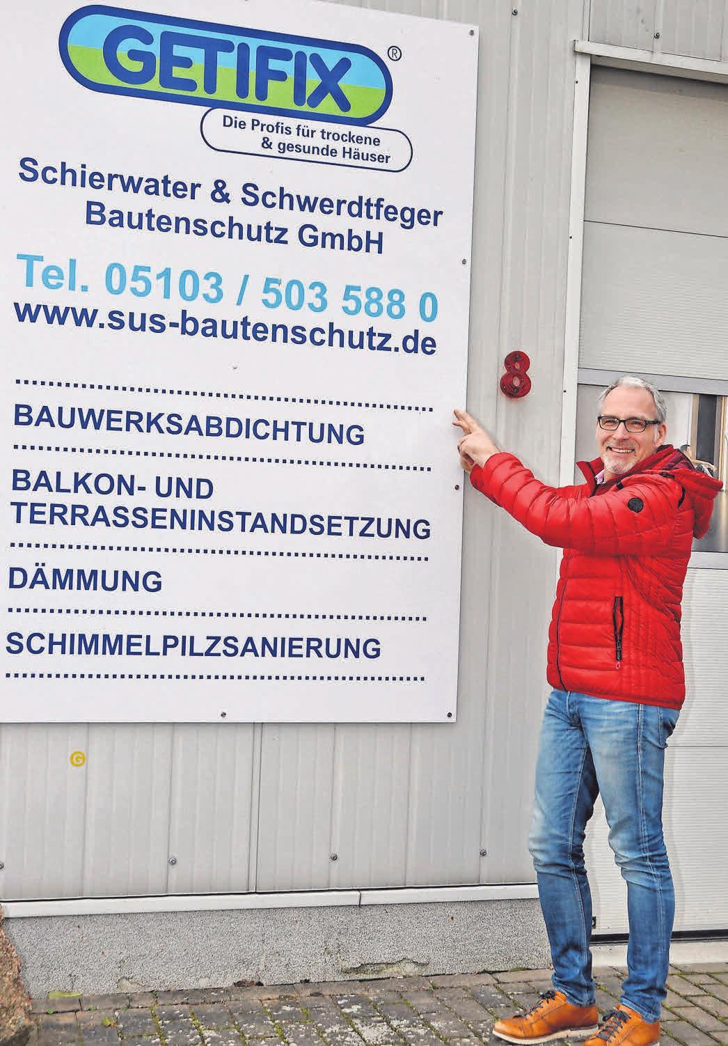 Arndt Schwerdtfeger leitet das Unternehmen. Foto: Archiv