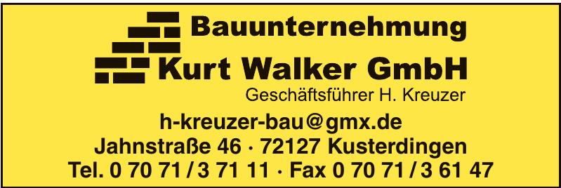 Bauunternehmung Kurt Walker GmbH