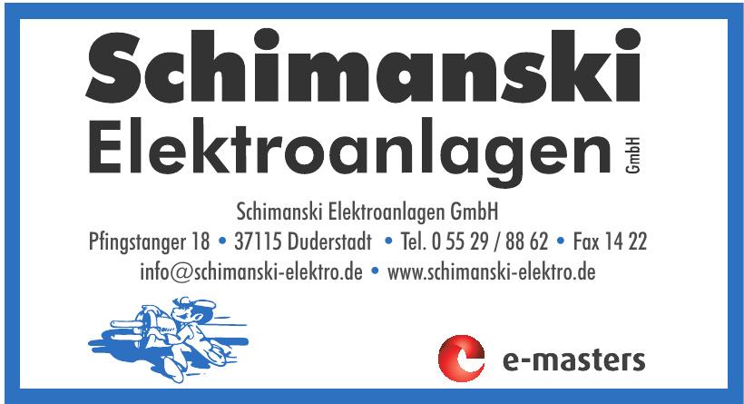 Schimanski Elektroanlagen GmbH