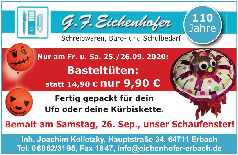 G. F. Eichenhofer Erbach