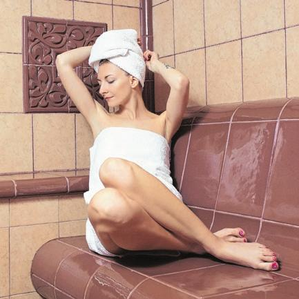 Ein Dampfbad macht die Haut weich. Foto: pefostudio5/Shutterstock.com