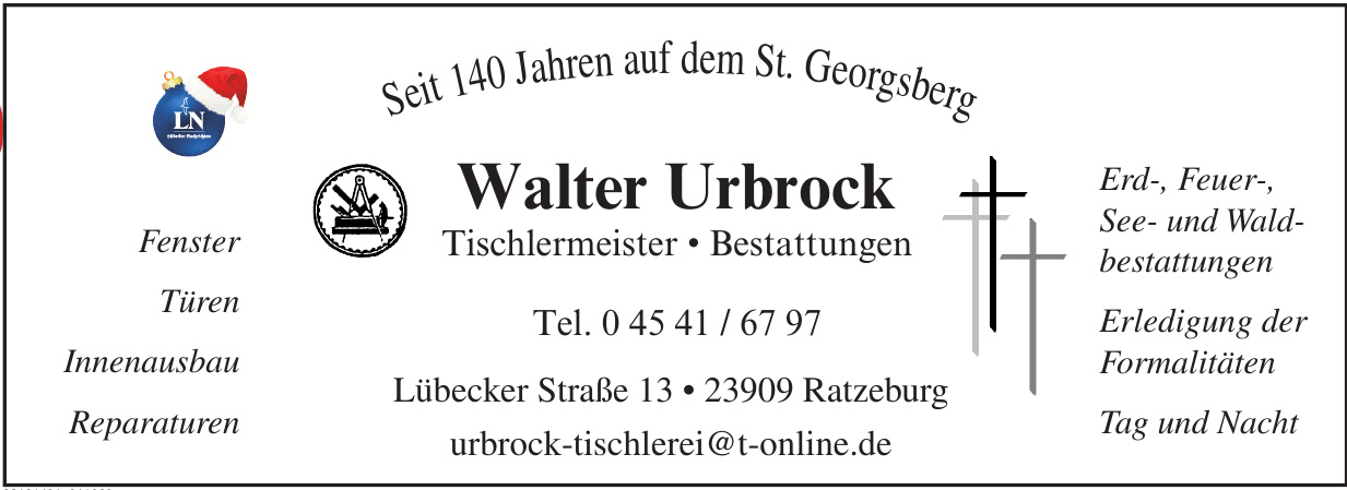 Walter Urbrock Bestattungen