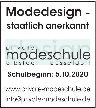 Private Modeschule