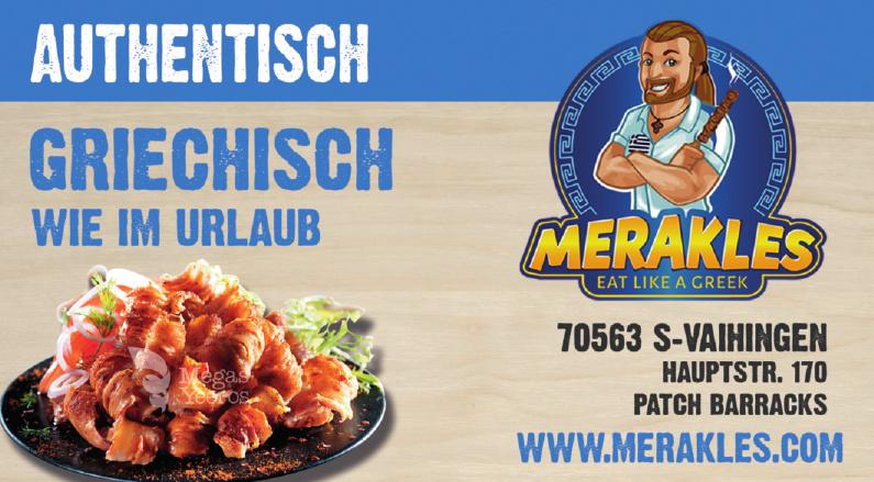 Merakles Der griechische Food Truck