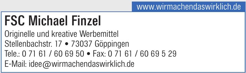 FSC Michael Finzel – originelle und kreative Werbemittel