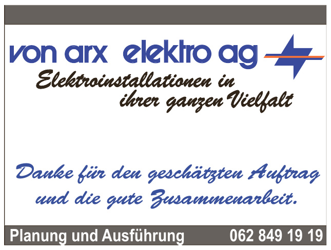 von arx Elektro AG