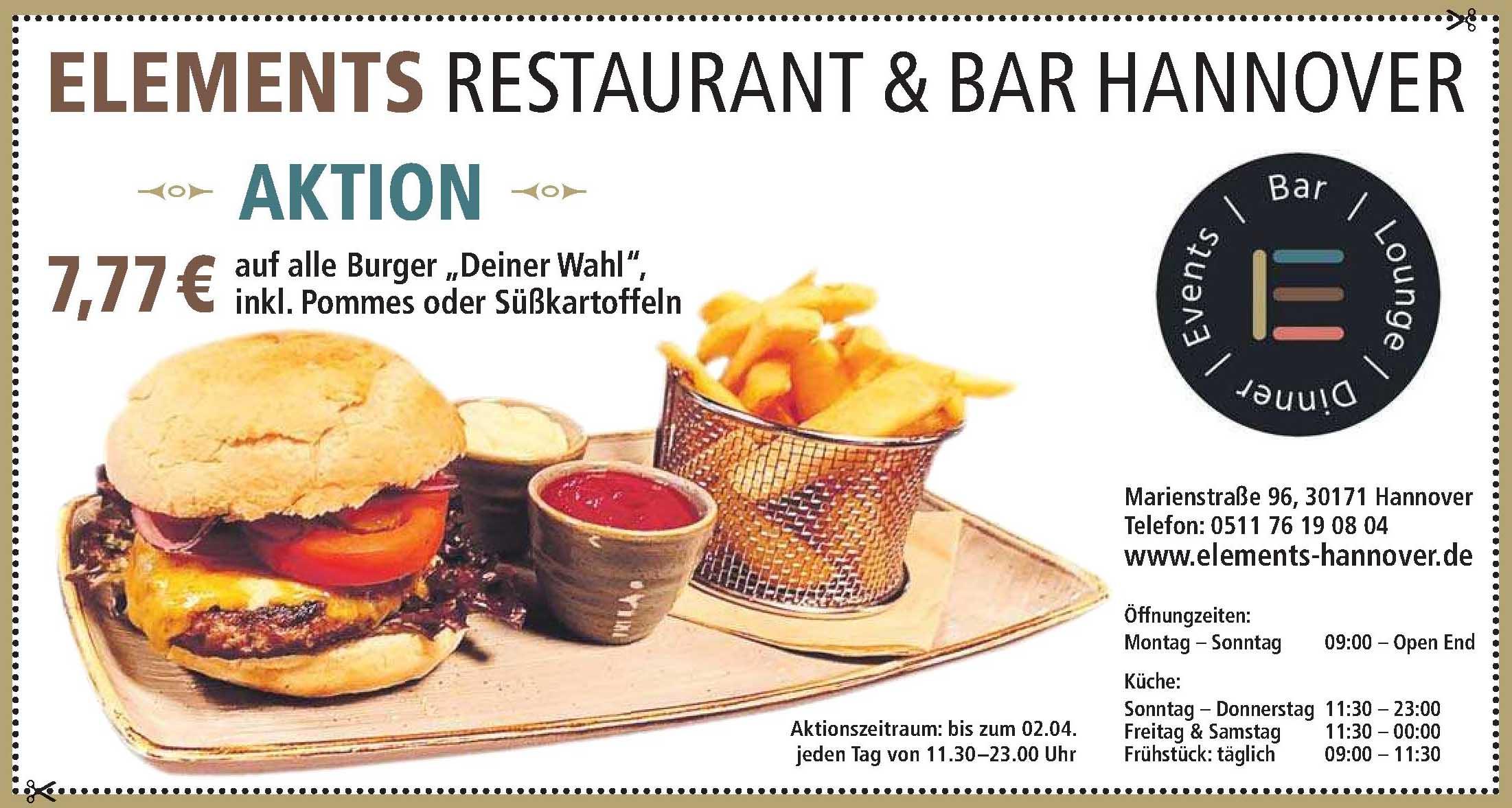 Elements Restaurant & Bar Hannover