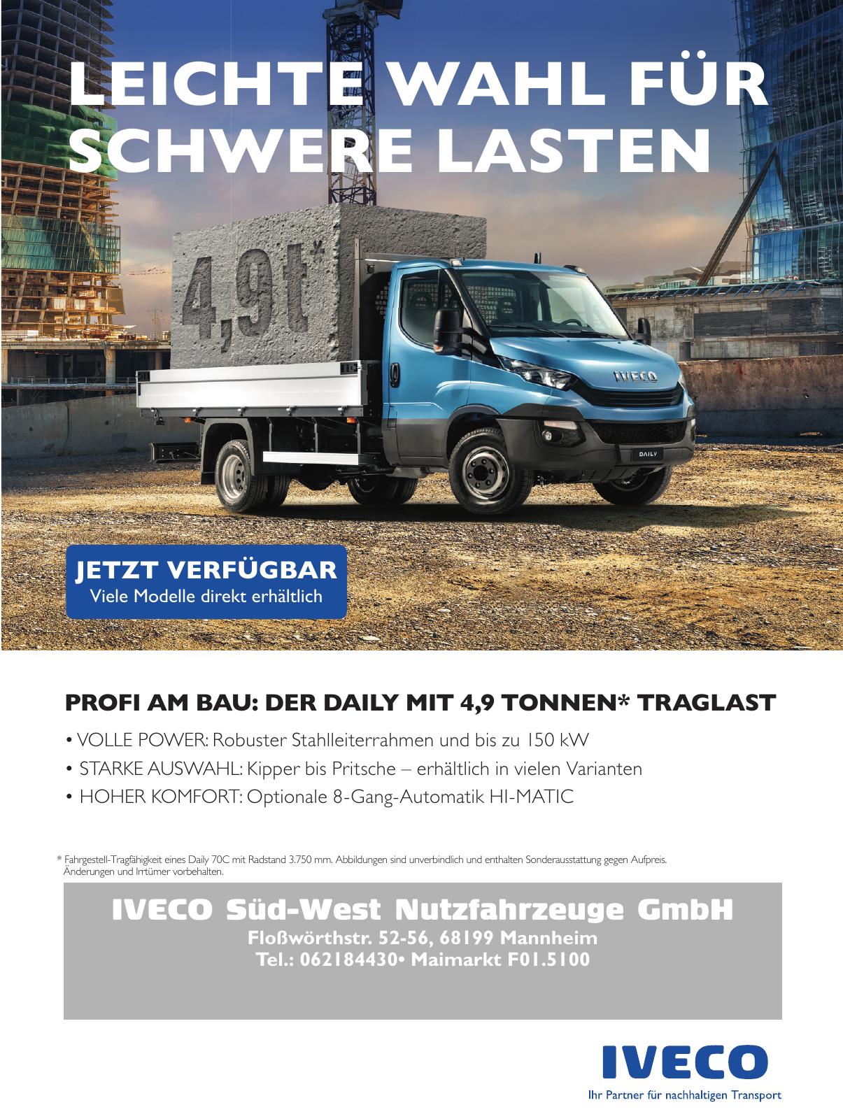 IVECO Süd-West Nutzfahrzeuge GmbH