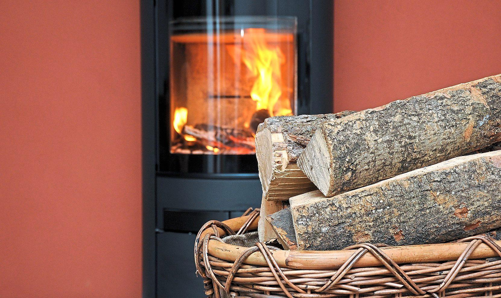 Effizientes Heizen gelingt, wenn das richtige Holz verwendet wird und Kaminofenbesitzer Acht auf die Luftzufuhr geben. Foto: ENA