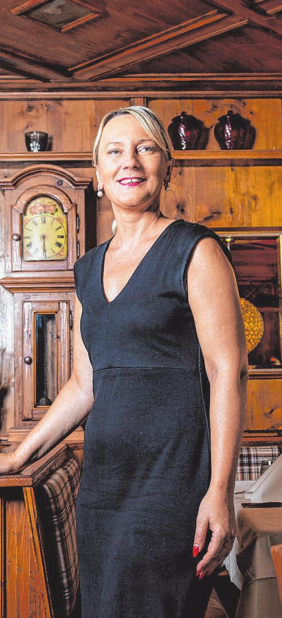 Restaurantleiterin Anna Louati.