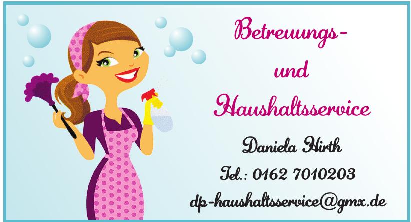 Betreuungs- und Haushaltsservice Daniela Hirth