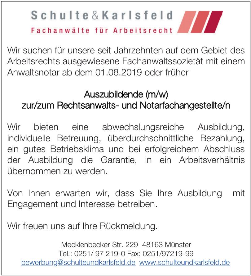 Schulte & Karlsfeld Fachanwälte für Arbeitsrecht PartGmbB