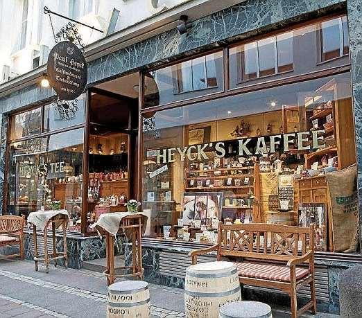 Kaffee- und Tee-Spezialist Paul Heyck in der Faulstraße. FOTO: HEYCK