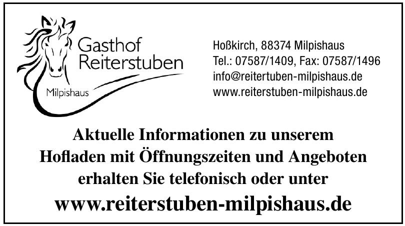 Gasthof Reiterstuben