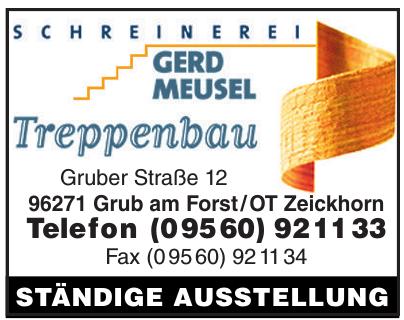 Schreinerei Gerd Muesel Treppenbau