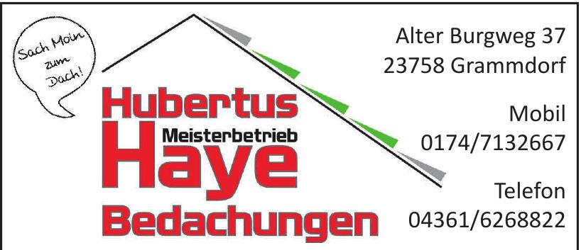 Hubertus Haye Bedachungen