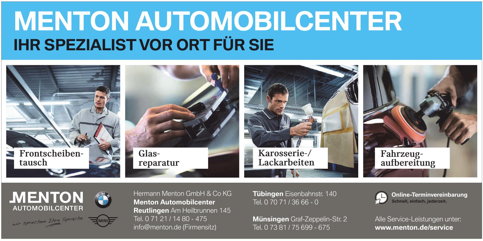 Hermann Menton GmbH & Co KG, Menton Automobilcenter