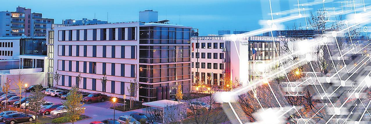Das Fraunhofer ITWM bündelt die Aktivitäten des Leistungszentrums. BILD: FRAUNHOFER ITWM/FREI