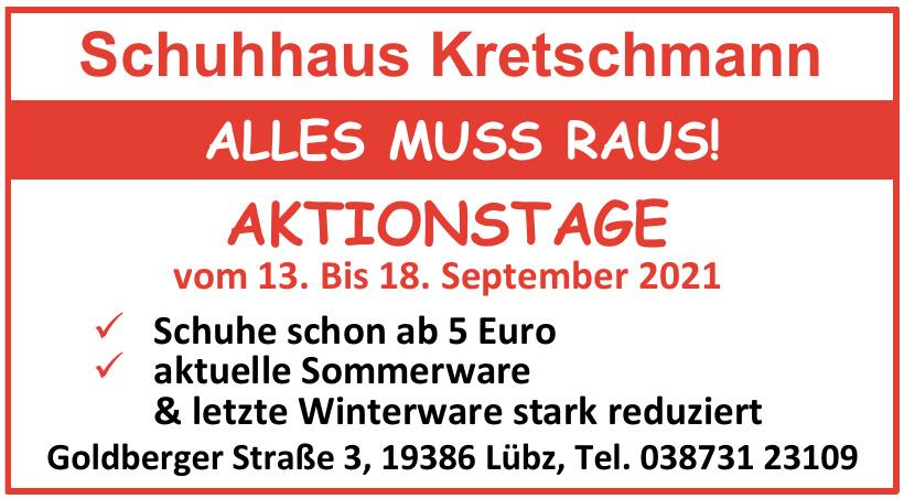 Schuhhaus Kretschmann