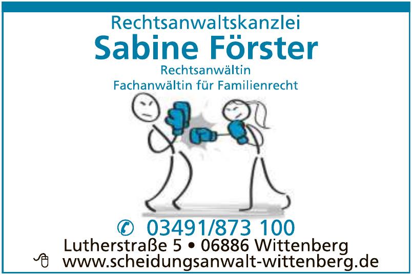 Rechtsanwaltskanzlei Sabine Förster